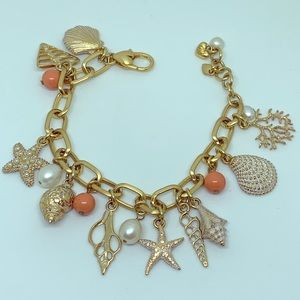 NWOT Brighton CORAL FANTASY Bracelet